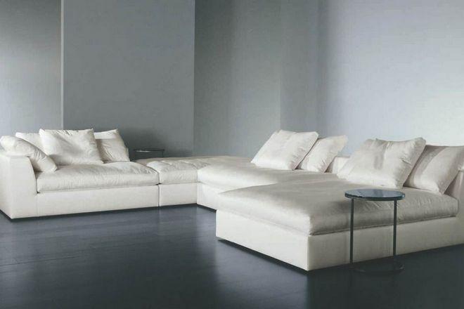 5 модульный диван с большим спальным местом