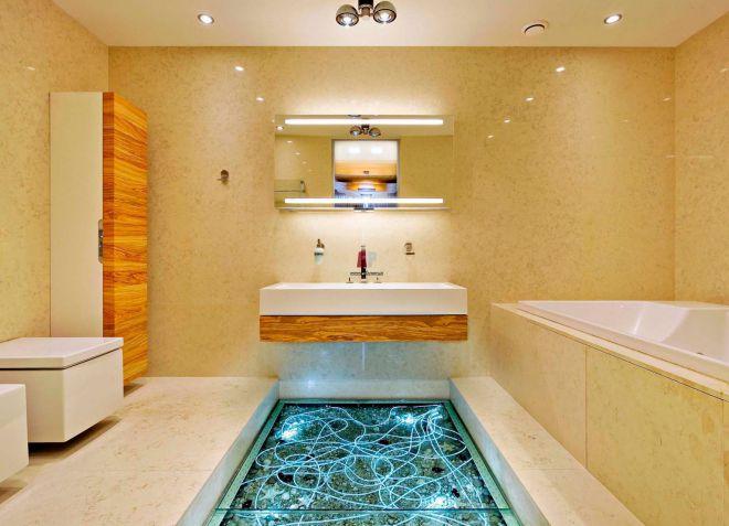 пол в ванной 12