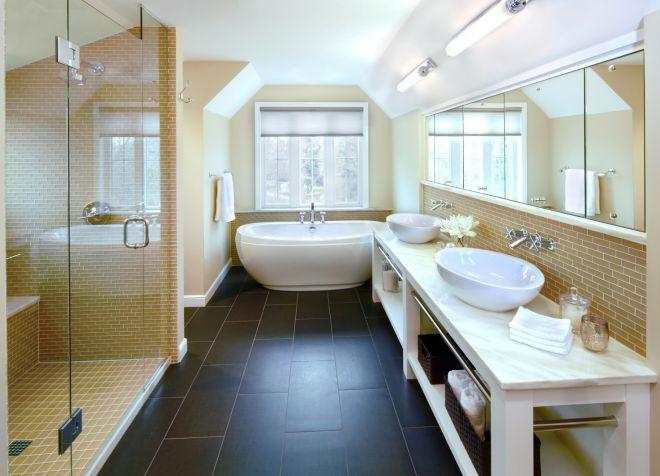 пол в ванной 14