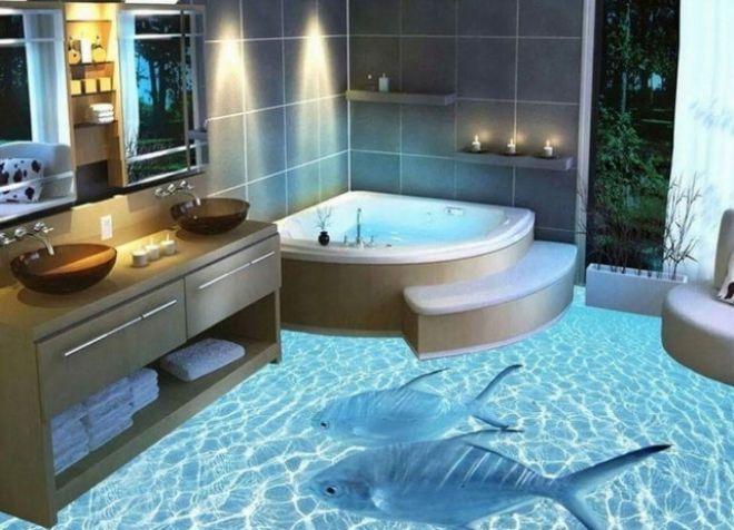 пол в ванной 2