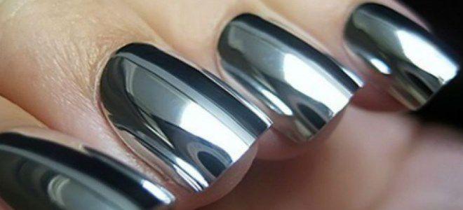 Espejo en polvo para uñas