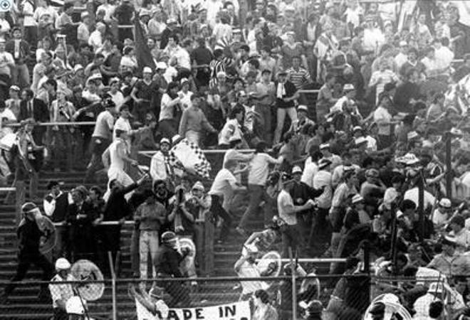 массовая давка в Лужниках 20 октября 1982 года