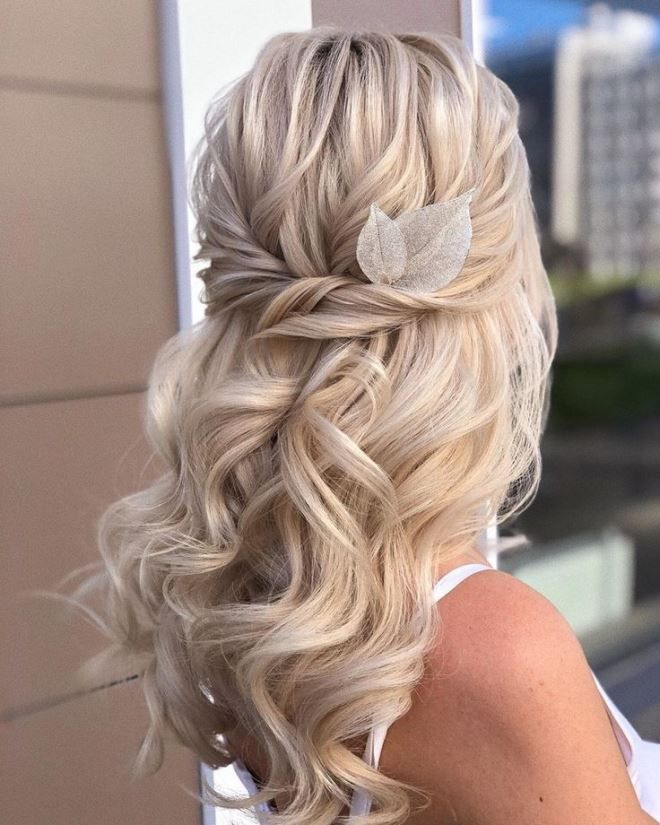 Шикарные локоны на волосы средней длины