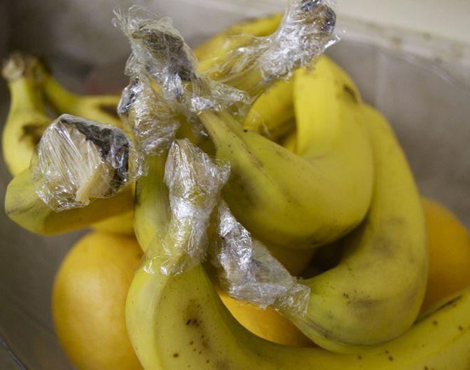 сохранение свежести бананов