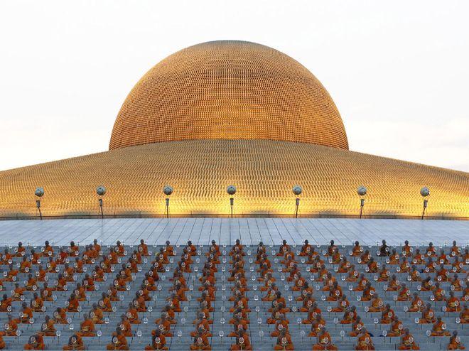 инопланетный храм таиланд