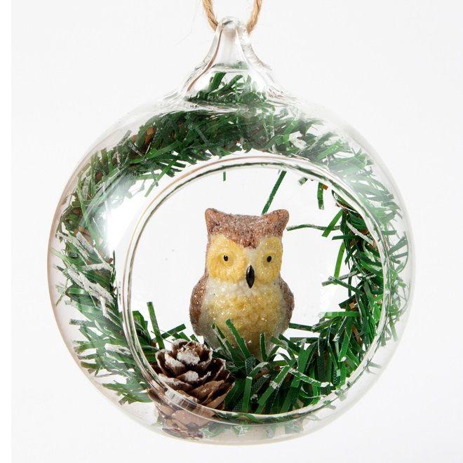 Креативный новогодний шарик для елки