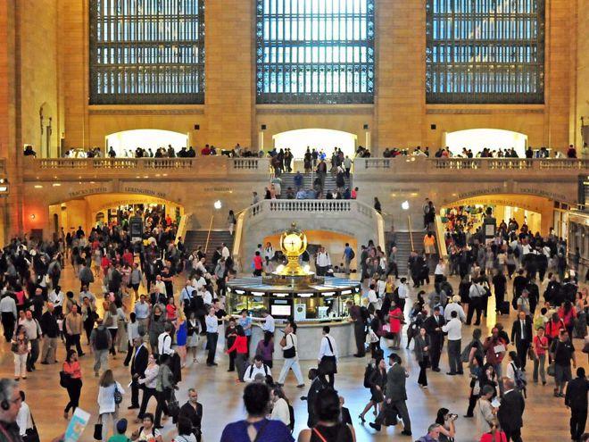 нью-йорк центральный вокзал
