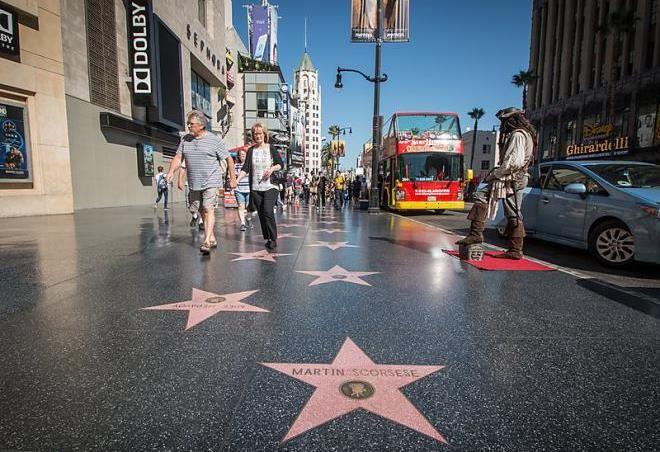 Аллея звезд Голливуда