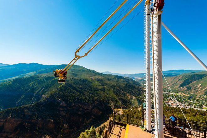 Giant Canyon Swing в штате Колорадо