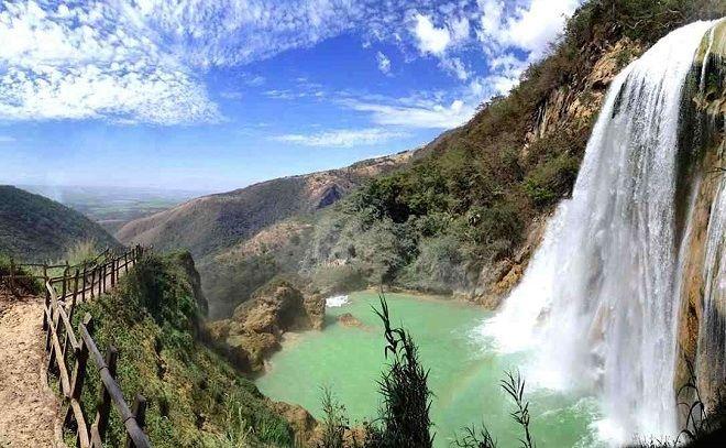 Мексиканские водопады