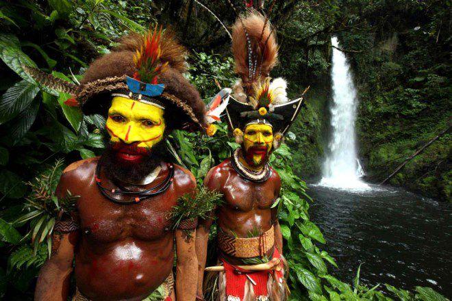 Племя Хули, Новая Гвинея