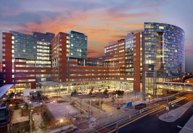 похожа на торговый центр а на самом деле лучшая больница