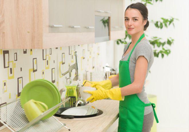 регулярное мытье посуды снимает стресс