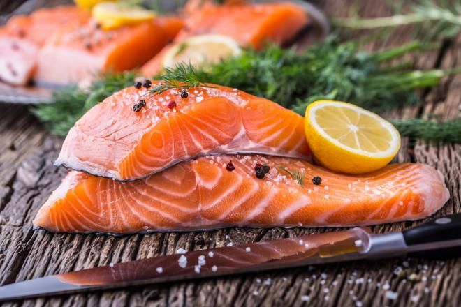 Рыба жирных сортов