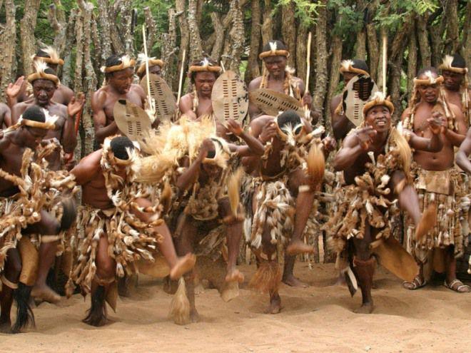 ЮАР народность зулу