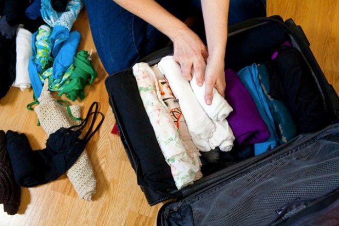 Правильно сложенные вещи помогут сэкономить место в чемондане