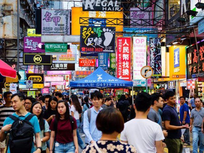 гонконг район монг-кок