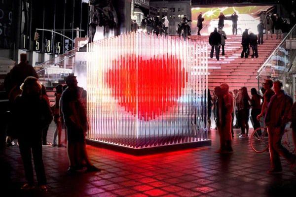 Валентин с Таймс Сквер 1