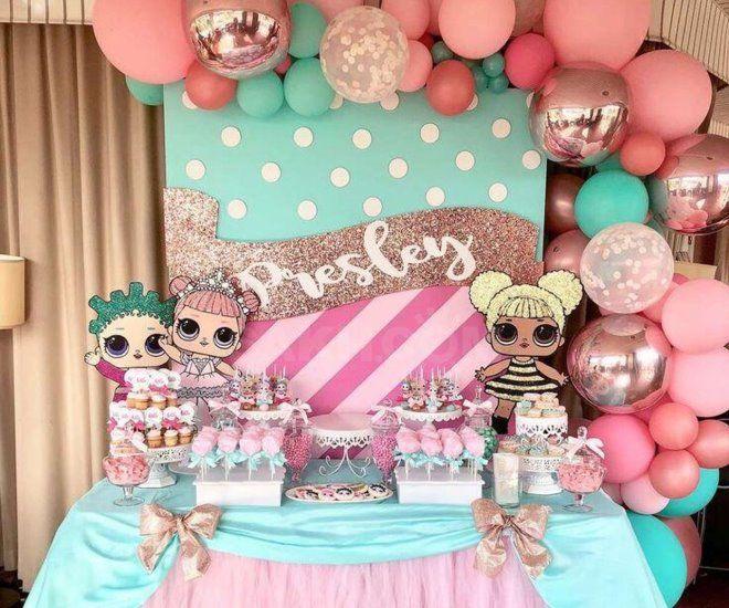 День рождения в стиле кукол ЛОЛ