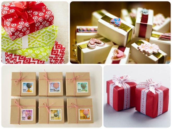 Красиво упаковать подарки