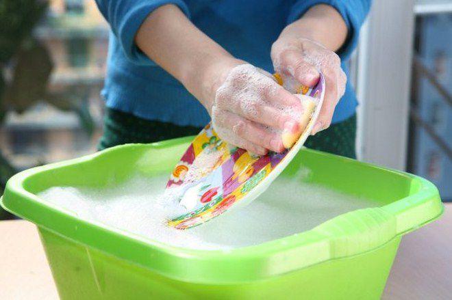 гель для мытья посуды по составу идентичен стиральному порошку