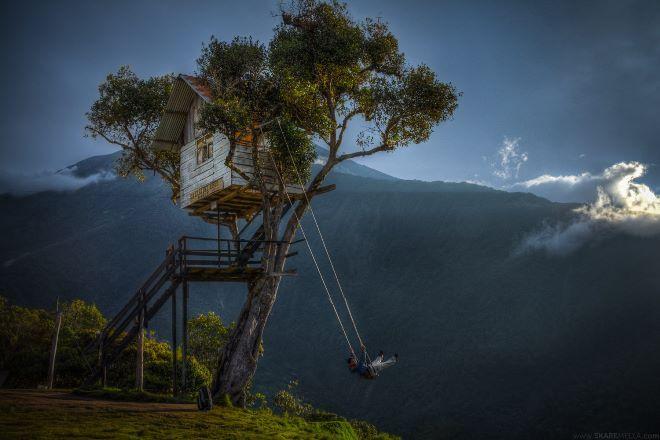 «Качели на краю света» Эквадор, Баньос