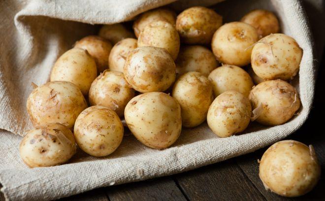 Не используйте молодую картошку