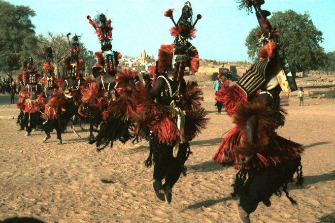 Племя Догоны, Западная Африка
