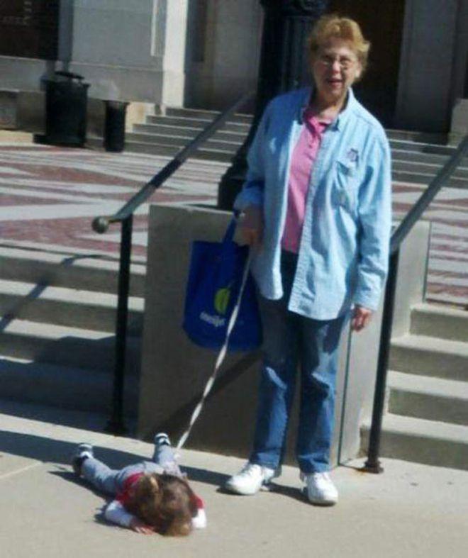 правильное поведение бабушки