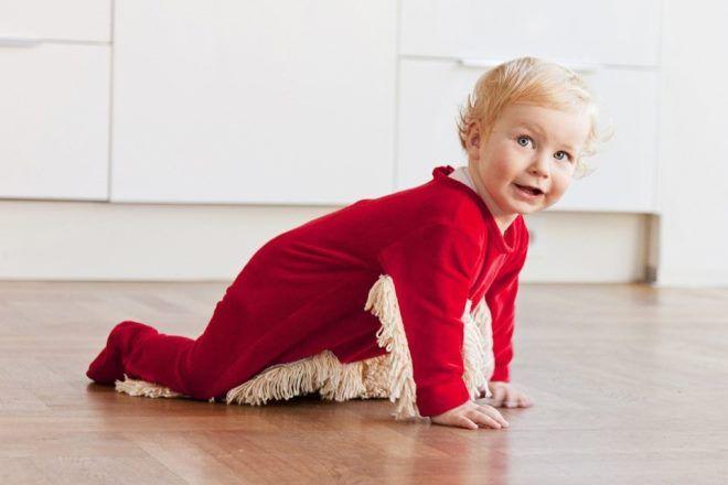 Детский костюмчик – половая тряпка