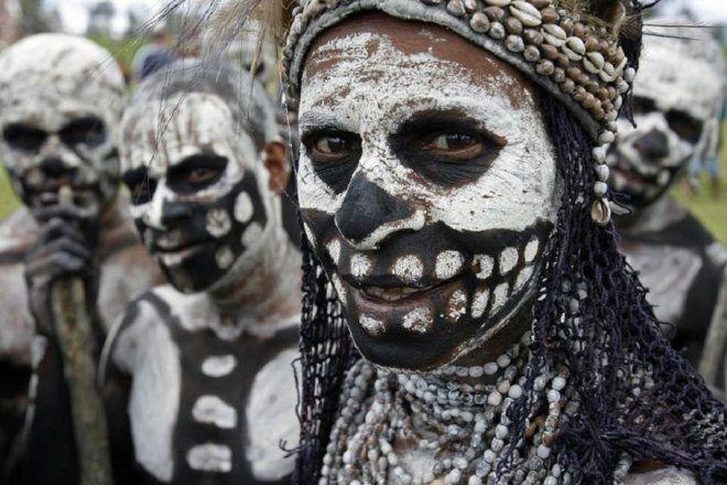Племя Чимбу, Новая Гвинея