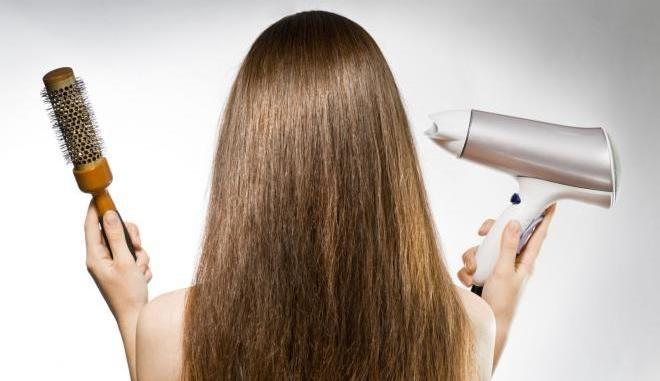 Причиной пушистости так же может быть уже пересушенный волос