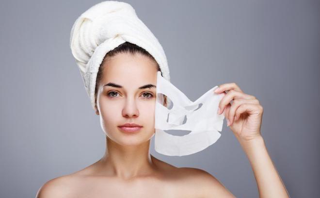Четвертый этап – тканевая маска