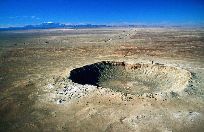 метеорит в мексике