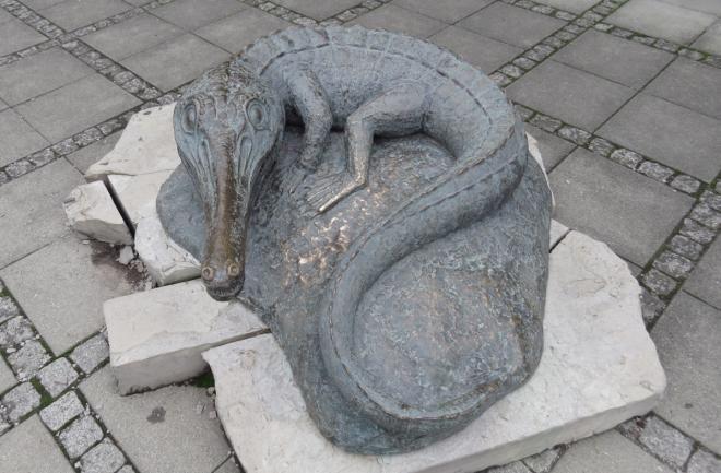 Останки динозавров в Хольцминдене