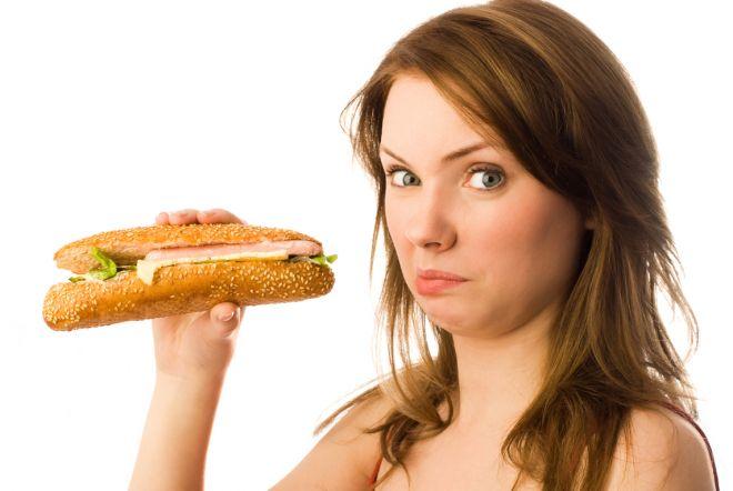 Отвращение к салу, бутербродам с маслом