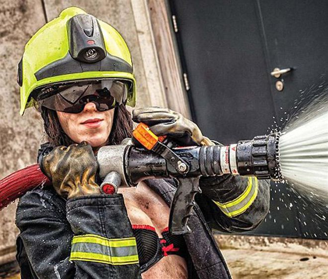 Naked female firefighter, eve lawrence sexy naked pictures