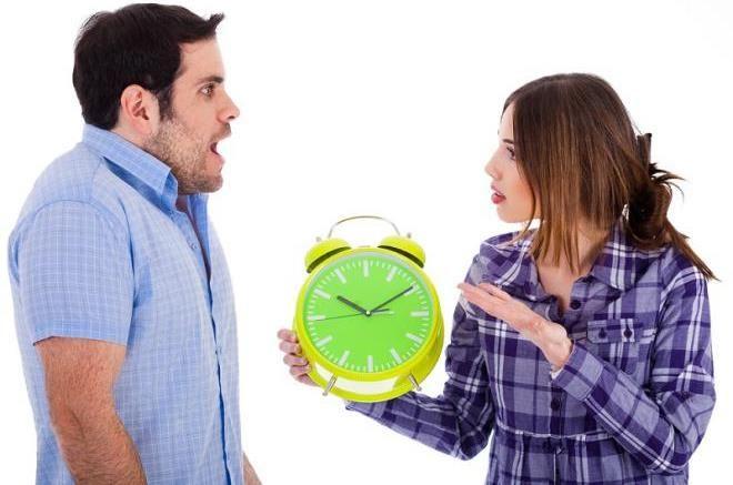 Злиться на опоздания