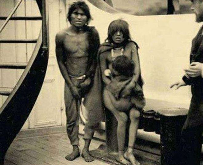 аборигены племени сельк'нам