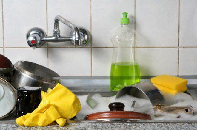 британцы изобрели свой собственный стиль мытья посуды
