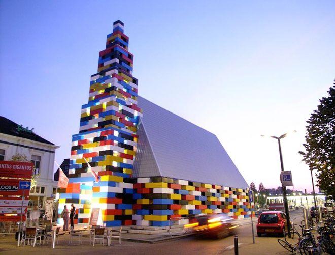храм из лего голланди