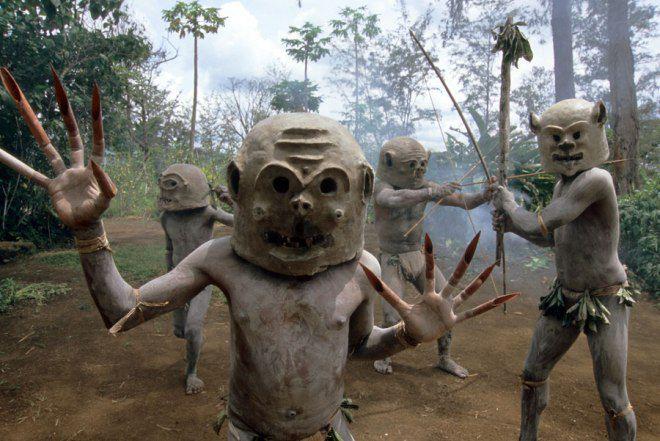 Племя Асаро, Новая Гвинея