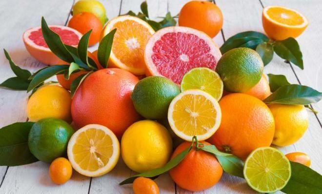 Цитрусовые фрукты