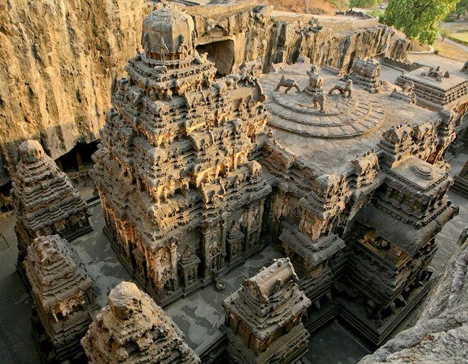каменный храм индия
