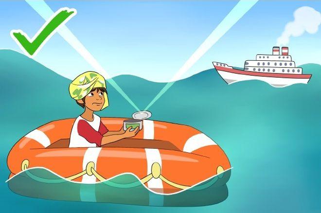 полезные советы для выживания в отрытом море