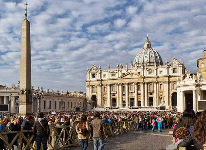 ватикан площадь святого петра