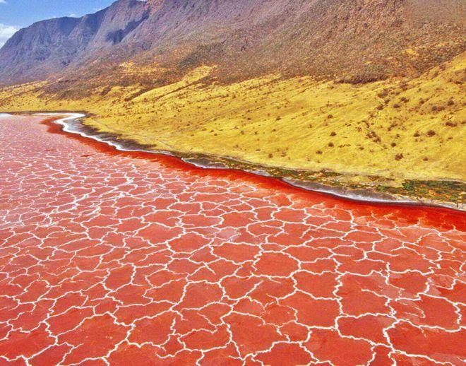 инопланетное озеро