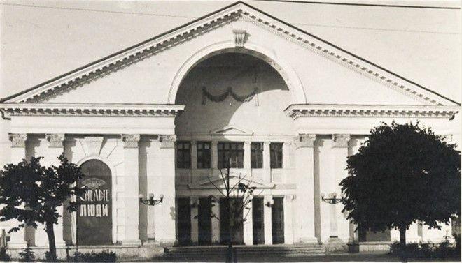 обрушение потолка в кинотеатра 25 апреля 1959 года