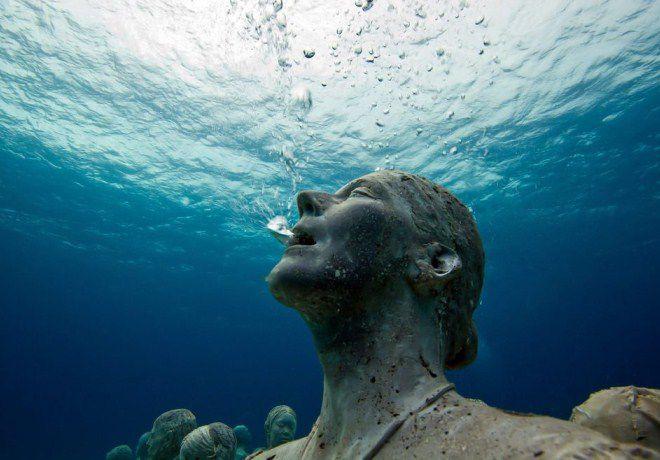 загадочные подводные жители