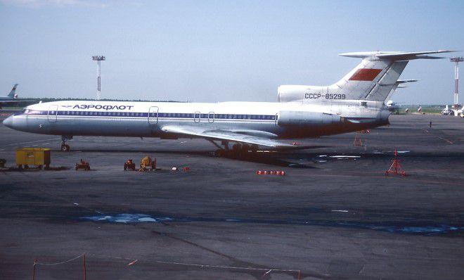 катастрофа Ту-154 в Алма-Ате 8 июля 1980 года